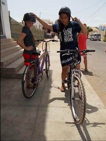Lindsay Mission - Aug 2014 -  Companion on a bike